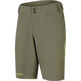 Ziener Niw X-Function Shorts Hombre, dusty olive